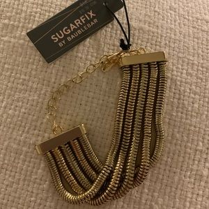 Gold Bracelet Sugarfix by Baublebar